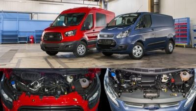 Ford Announces EcoBlue Diesel Engine